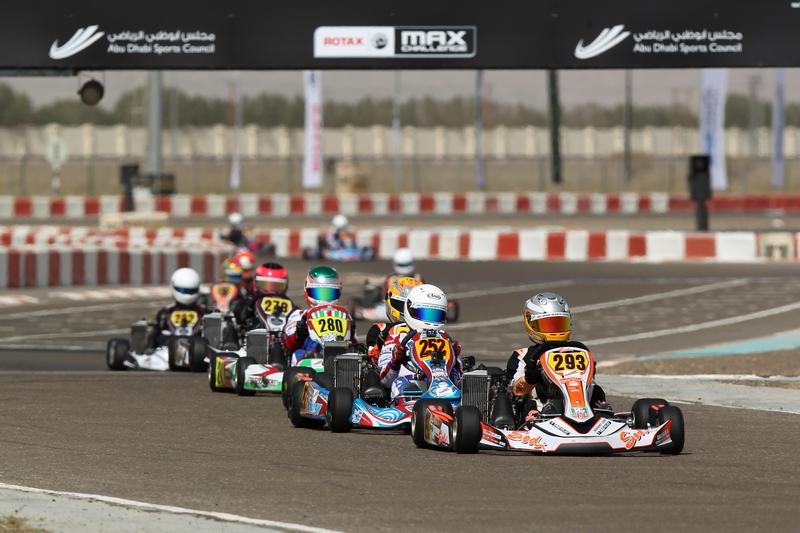 تحدي روتاكس ماكس لسيارات الكارتينج ينطلق بجولاته 13 في دولة الإمارات وسلطنة عمان