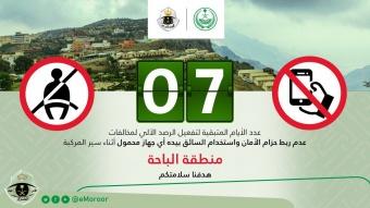 الاستعداد لرصد المخالفات الياً بمنطقة الباحة في السعودية !