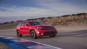 جيب جراند شيروكي تراك هوك Trackhawk 2017 – أقوى وأسرع سيارة SUV في العالم !
