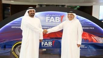 بنك أبوظبي الأول البنك الرسمي لسباق جائزة الاتحاد للطيران الكبرى للفورمولا1