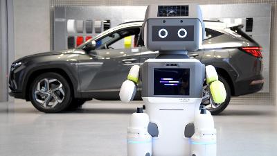هيونداي تبدا باستخدام الروبوتات في صالات عرض وبيع السيارات !