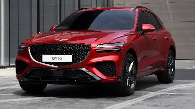 الكشف الرسمي عن جينيسيس GV70 الـ SUV موديل 2022 الجديدة كليا !