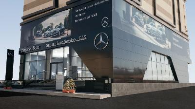 الألمانيه للسيارات GAS تفتتح معرضها الجديد لسيارات مرسيدس-بنز بمنطقة هليوبوليس